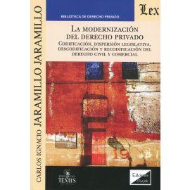 La modernización del Derecho privado. Codificación, dispersión legislativa, descodificación y recodificación del Derecho civil y comercial