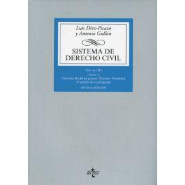 Sistema de Derecho Civil. Vol. III/1, 2019. Derechos Reales en general. Posesión. Propiedad. El registro de la propiedad