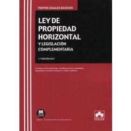 Ley de propiedad horizontal y legislación complementaria 2021