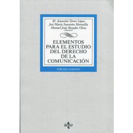 Elementos para el estudio del Derecho de la comunicación 2019