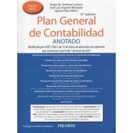 Plan General de Contabilidad Anotado. Modificado por el RD 1/2021, de 12 de enero, de aplicación a los ejercicios que comiencen a partir del 1 de enero de 2021