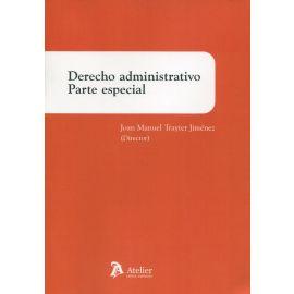 Derecho administrativo. Parte especial