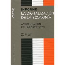 Informe 1/2021 La digitalización de la economía. Actualización del informe 3/2017