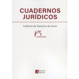 Cuadernos jurídicos del Instituto de Derecho de Autor. 15 aniversario
