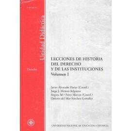 Lecciones de Historia del Derecho y de Instituciones. 2 Voúmenes