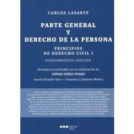 Principios de derecho civil, I 2021. Parte general y derecho de la persona