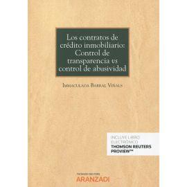 Contratos de crédito inmobiliario: control de transparencia vs control de abusividad.