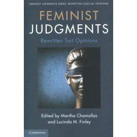 Feminist judgments. Rewritten tort opinions