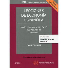 Lecciones de economía española 2021. Contiene ejercicios y prácticas