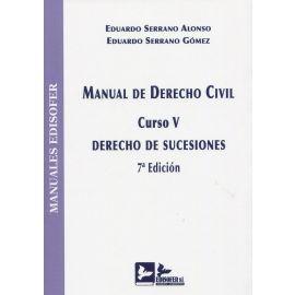 Manual de derecho civil. Curso V. Derecho de sucesiones 2021