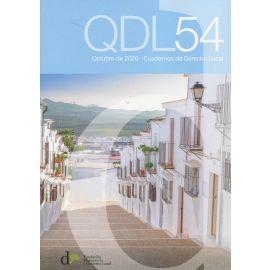 Cuadernos de derecho local Nº 54, octubre 2020