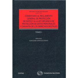 Comentario al Reglamento General de Protección de Datos y a la Ley Orgánica de Protección de Datos y garantía de los derechos digitales. Tomos I y II