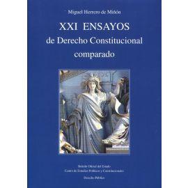 XXI Ensayos de derecho constitucional comparado