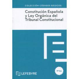 Constitución Española y Ley Orgánica del Tribunal Constitucional 2021