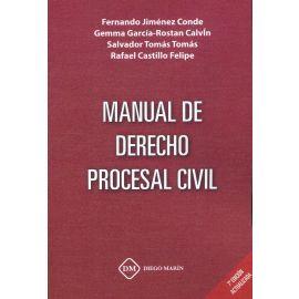 Manual de derecho procesal civil 2021