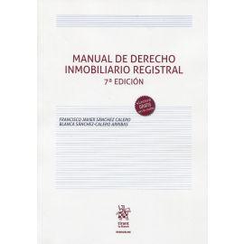 Manual de Derecho Inmobiliario Registral 2021