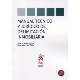 Manual técnico y jurídico de delimitación inmobiliaria