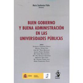 Buen gobierno y buena administración en las universidades públicas