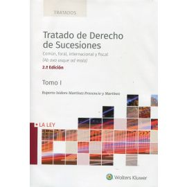 Tratado de derecho de sucesiones 2020. 2 vols. Común, foral, internacional y fiscal (Ab ovo usque ad mala)