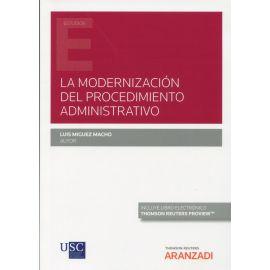 La modernización del procedimiento administrativo