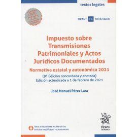 Impuesto sobre transmisiones patrimoniales y actos jurídicos documentados.111 Normativa estatal y autonómica 2021