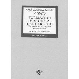 Formación histórica del Derecho. Del primitivismo jurídico al Ius Commune.  Fuentes para el estudio