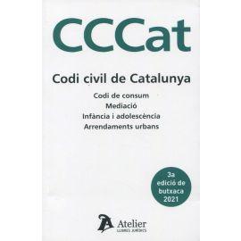 Codi civil de Catalunya 2021. Codi de consum. Mediació. Arrendaments urbans