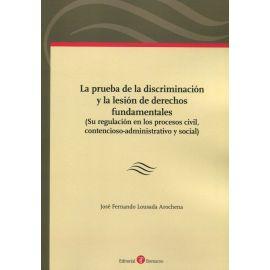 Prueba de la discriminación y la lesión de derechos fundamentales (Su regulación en los procesos civil, contencioso-administrativo y social)