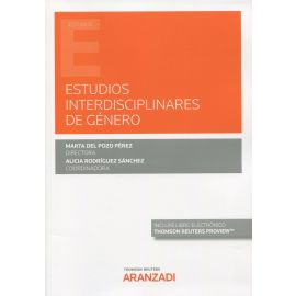 Estudios interdisciplinares de género. Alicia Rodríguez Sánchez