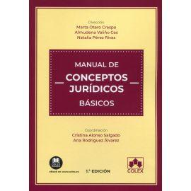 Manual de conceptos jurídicos básicos