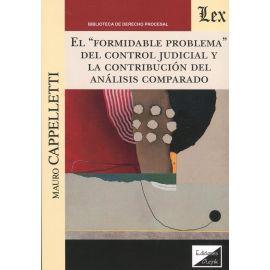 Formidable problema del control judicial y la contribución del análisis comparado