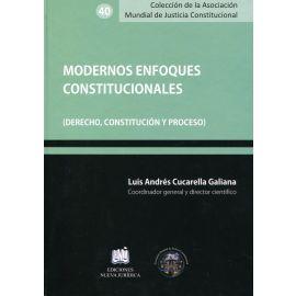 Modernos enfoques constitucionales. ( Derecho, constitución y proceso)
