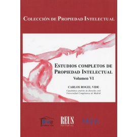 Estudios completos de propiedad intelectual Vol. VI