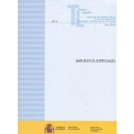Impuestos especiales 2019. Separata del Boletín Oficial de los Ministerios de Hacienda y de Economía y Empresa Nº 9