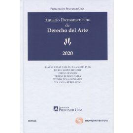 Anuario iberoamericano de derecho del arte 2020