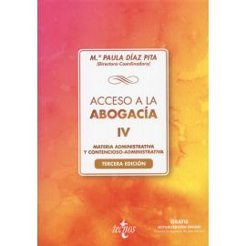 Acceso a la abogacía IV. Materia administrativa y contencioso- administrativa