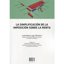 Simplificación de la imposición sobre la renta