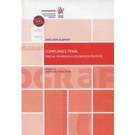 Compliance Penal. Especial referencia a los partidos políticos