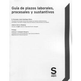 Guía de plazos laborales, procesales y sustantivos