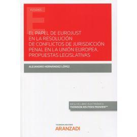 Papel de eurojust en la resolución de conflictos de jurisdicción penal en la Unión Europea. Propuestas legislativas