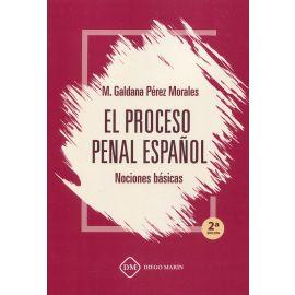 Proceso penal español. Nociones básicas