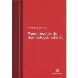 Fundamentos de deontología notarial