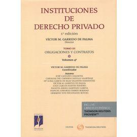 Instituciones de derecho privado 03/04. Obligaciones y contratos