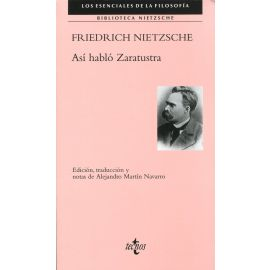 Así habló Zaratustra. Biblioteca Nietzsche