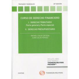 Curso de Derecho Financiero 2021. I. Derecho Tributario Parte general y parte Especial.  II. Derecho presupuestario