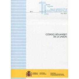 Código Aduanero de la Unión 2021.