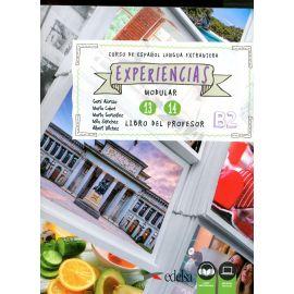 Experiencias 13 - 14 (B2). Libro del profesor. Curso de español lengua extranjera