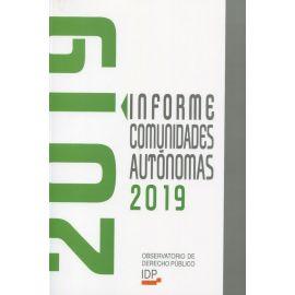 Informe Comunidades Autónomas 2019