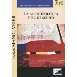 Antropología y el derecho.