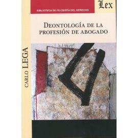 Deontología de la profesión de abogado.